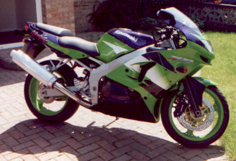 Green ZX-6R